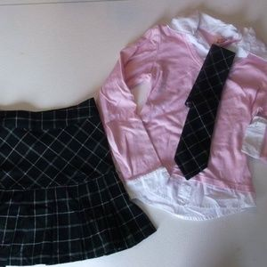 Other - Lot of 2 Skirt sets Girls Size 10 12